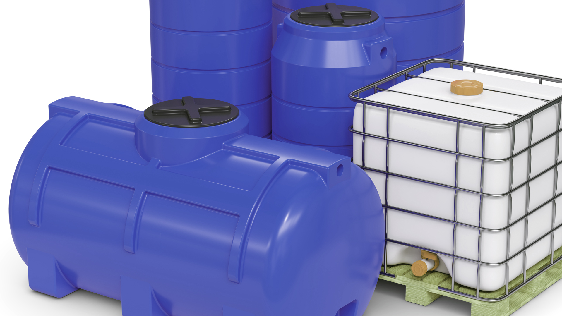 Batterietanks Kunststoff bis 2.000 Liter/Stück